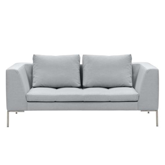 Sofa IiSilber Stoff Anda Madison2 sitzerWebstoff WroCBdxe