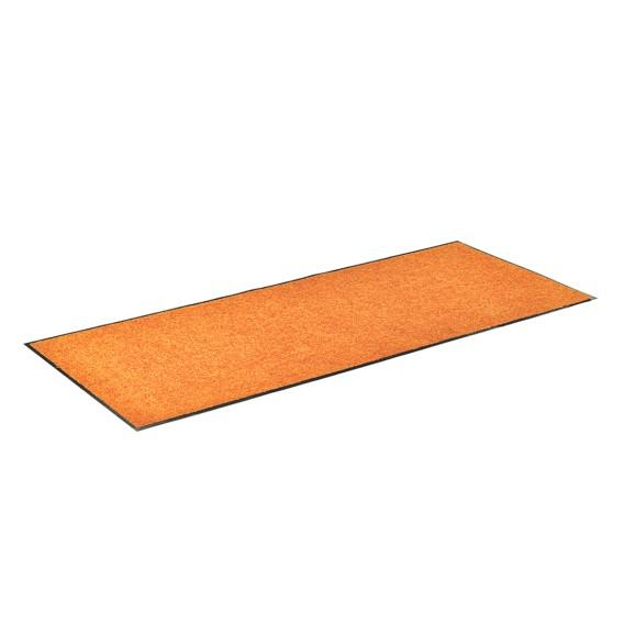 Clean X Washamp; FußUnd Sauberlaufmatte OrangeMaße60 Cm 90 v80NOmwny