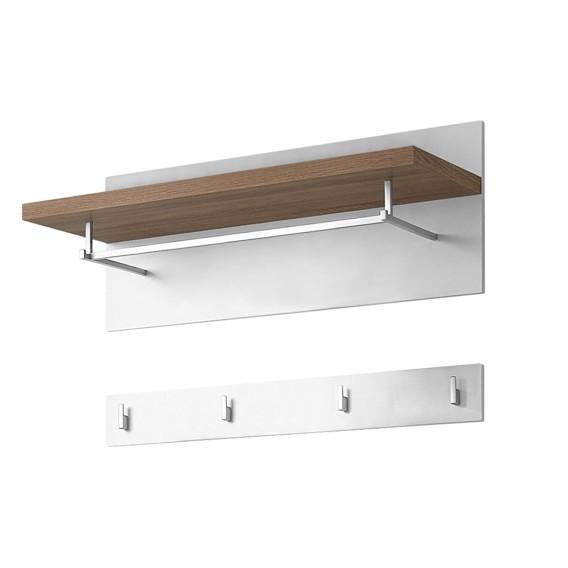 home24 moderne top square garderobe home24. Black Bedroom Furniture Sets. Home Design Ideas