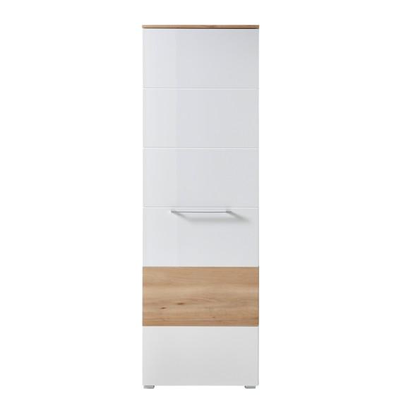 WeißBuche Garderobenschrank Dekor Hochglanz Exterior reEdoQCxBW