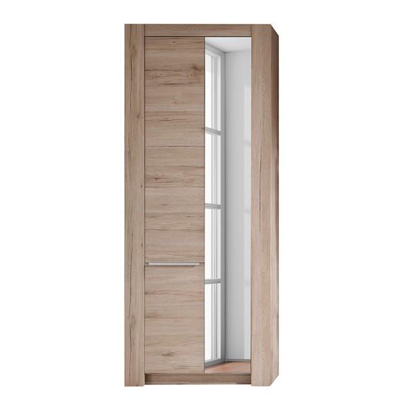 garderobenschrank winburg mit spiegel home24. Black Bedroom Furniture Sets. Home Design Ideas