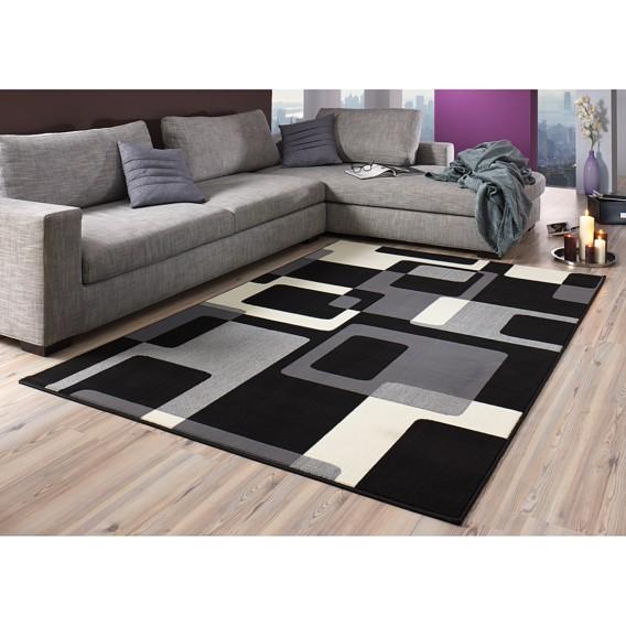 150 Cm Grau Retro X Teppich schwarz80 EIb2HW9eDY
