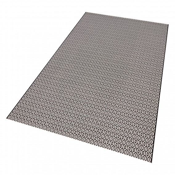 Coin SchwarzWeiß80 X teppich Inoutdoor Cm 150 f7vYb6gy