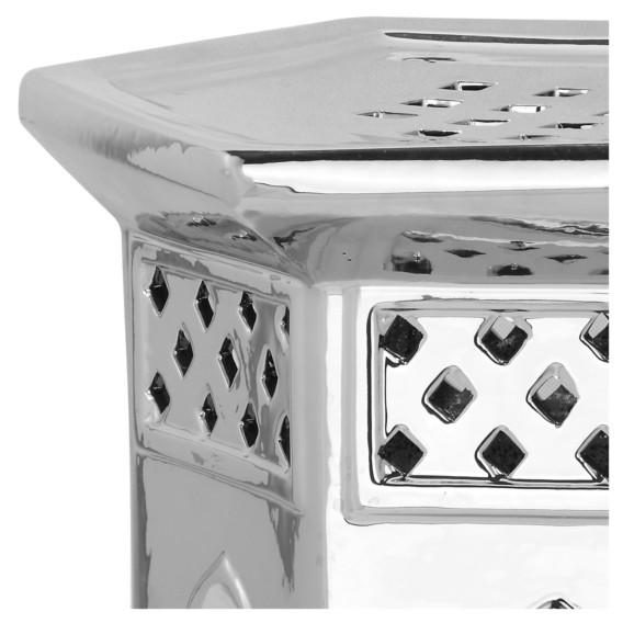 Marokkanisch Marokkanisch Silber Keramikhocker Silber Silber Keramikhocker Silber Marokkanisch Keramikhocker Marokkanisch Keramikhocker nwP8Ok0