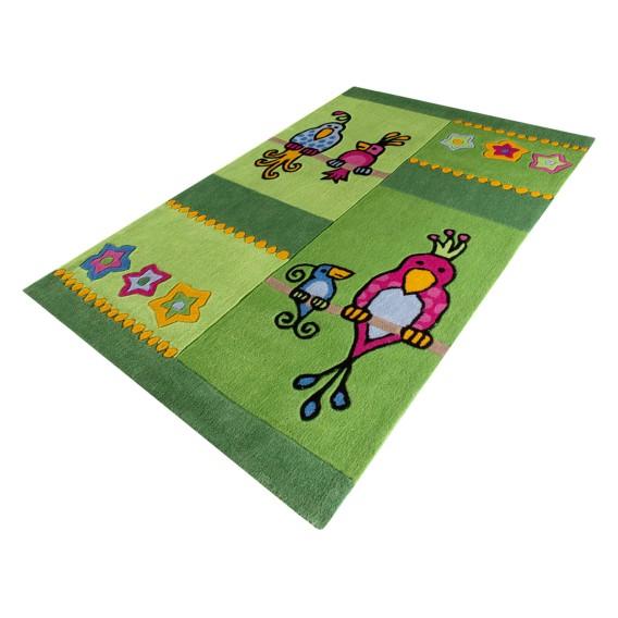 Kakadu Grün Grün Kinderteppich Kakadu Kinderteppich Kakadu Kinderteppich Grün uJlcTK513F