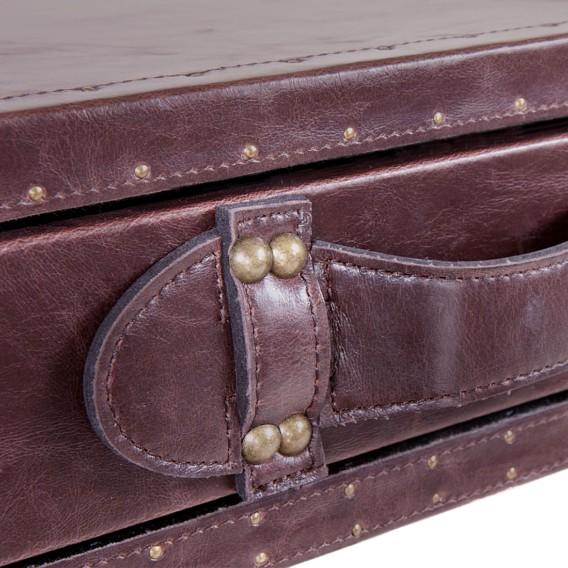 Braun Konsolentisch Howdy Konsolentisch Vintage lederlook Howdy Vintage OPkZiXu