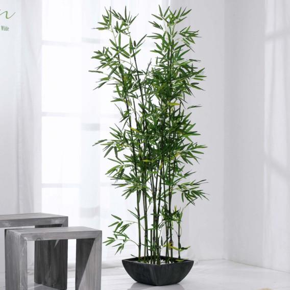 Im Bambus Kunstpflanze Terrakottatopf Bambus Terrakottatopf TextilGrün Kunstpflanze Im tshCxdQr