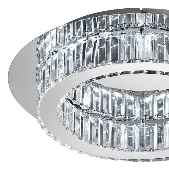 Led KristallglasEdelstahl1 Corliano deckenleuchte KristallglasEdelstahl1 flammig deckenleuchte Corliano Led flammig mNy80OnwvP