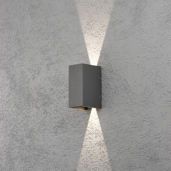 Cremona Aluminium flammig Led Wandleuchte kunststoff2 0O8vmNnw