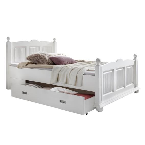 massivholzbett friedrich mit bettkasten home24. Black Bedroom Furniture Sets. Home Design Ideas