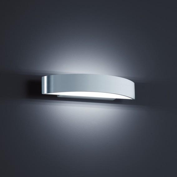 Ii Silberamp; Weiß wandleuchte Led Yona Aluminium nNm80w
