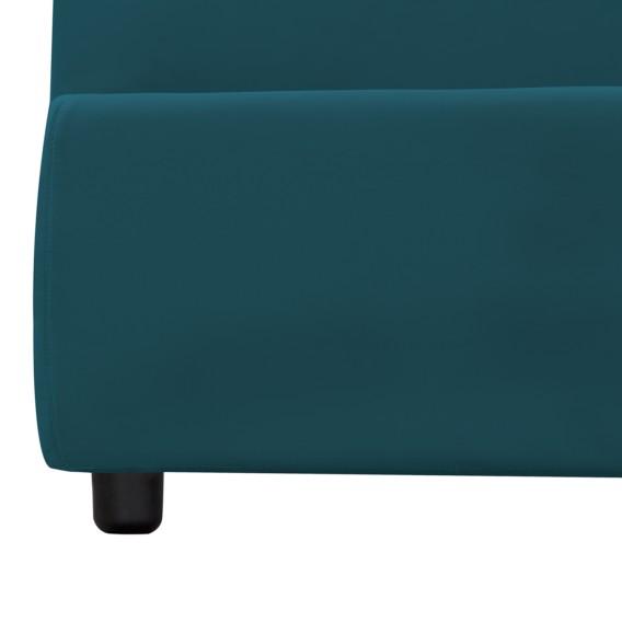 AlessioinklBettkastenStoff 1 Bettkasten X 200cm Polsterbett ValonaPetrol140 eWE2IYDH9