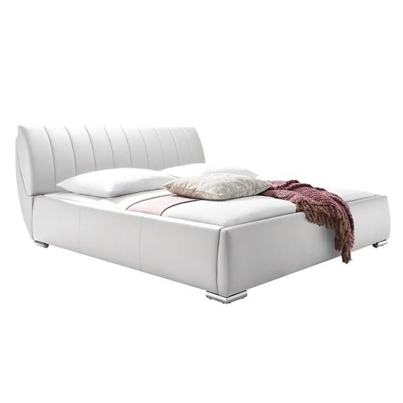 polsterbett luna kunstleder home24. Black Bedroom Furniture Sets. Home Design Ideas
