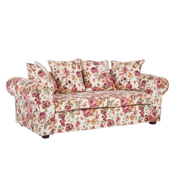 Sofa Sofa Colmar3 Colmar3 Beige Blume sitzerStoff sitzerStoff 8nP0Okw