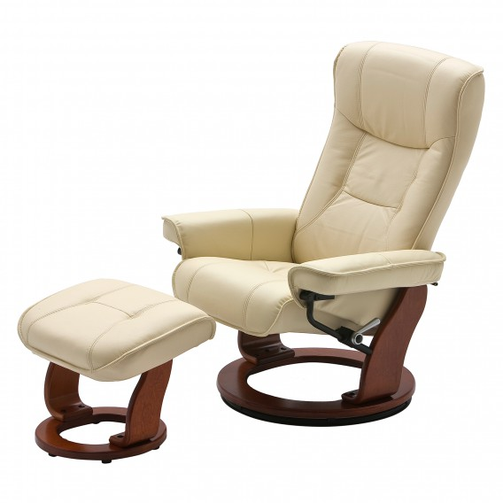 Fauteuil Relax Creme.Fauteuil Relaxation Odenwald Creme