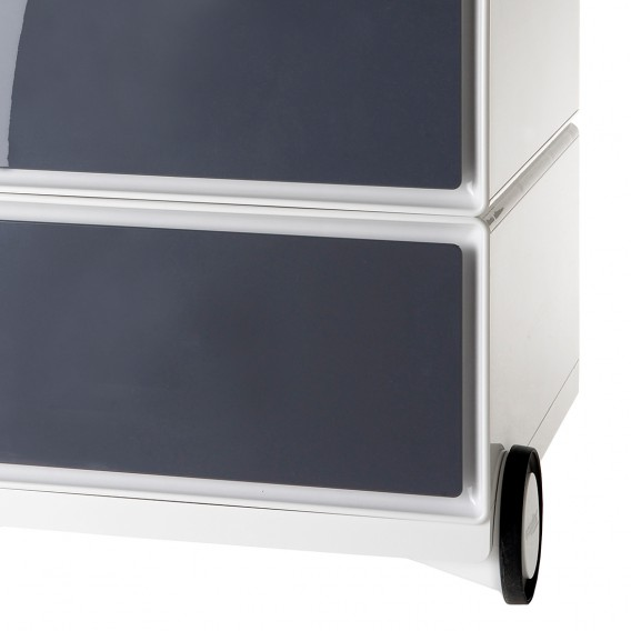 I WeißAnthrazit Easybox Rollcontainer Easybox Rollcontainer OPXTZuik