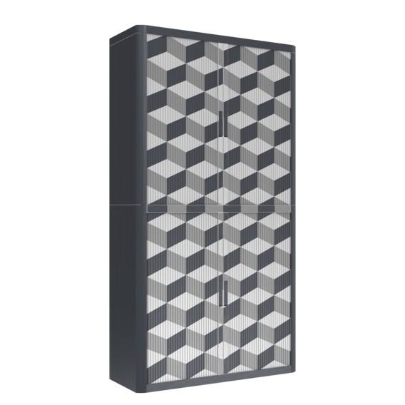 Easyoffice Aktenschrank Geometrique Iii Geometrique Aktenschrank Grau Easyoffice sQrdtCh