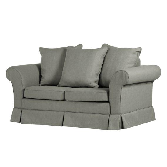 schlafsofa campagne 2 sitzer webstoff home24. Black Bedroom Furniture Sets. Home Design Ideas