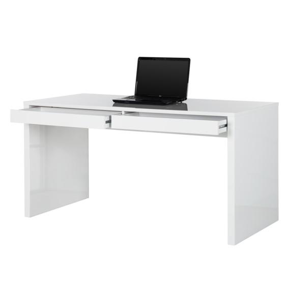 Schubkästen Takoradi Zwei WeißMit Schreibtisch Hochglanz wk80PnO