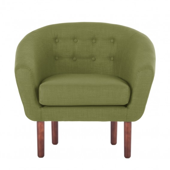 Webstoff Sessel I Sessel Anna Olivgrün K1FclJ
