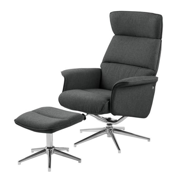 sessel dingle mit hocker webstoff home24. Black Bedroom Furniture Sets. Home Design Ideas