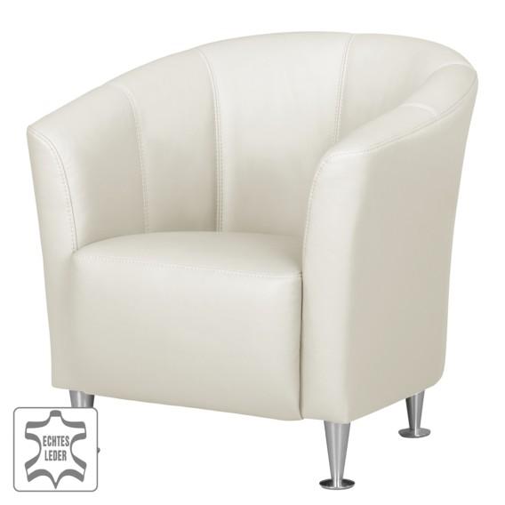 Sessel Minga Sessel Weiß Minga Echtleder 2HED9WI