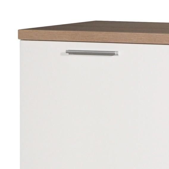 Sonoma Texture Eiche I Sideboard DekorWeiß nmwv80N