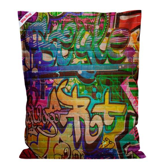 Sitzsack Big Bag Graffiti Webstoff Graffiti Design