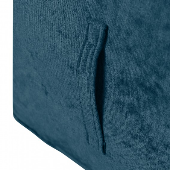 Samt Marineblau Piton Sitzwürfel Samt Sitzwürfel Sitzwürfel Marineblau Piton Piton Samt OP8wk0n