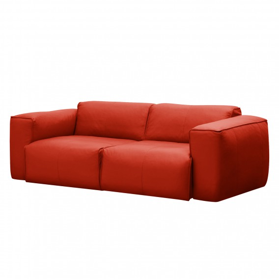 Sofa Hudson 2 Sitzer Echtleder