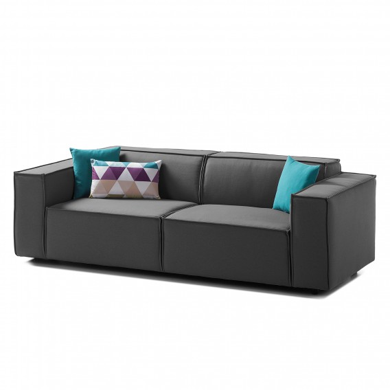 sofa kinx 2 5 sitzer webstoff home24. Black Bedroom Furniture Sets. Home Design Ideas