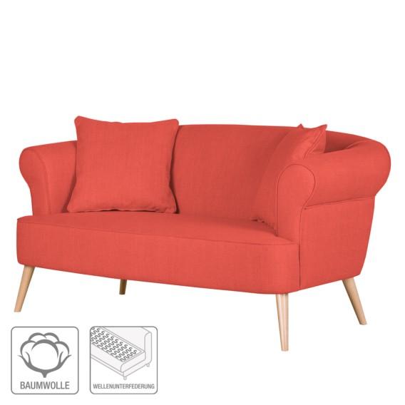 Sofa Rot sitzerWebstoff Rot sitzerWebstoff Sofa Lilou2 Lilou2 qUpMVSGz