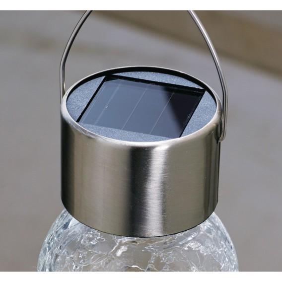 set teiligEdelstahl glasSilber glasSilber Glasbälle5 Solarleuchten Solarleuchten teiligEdelstahl set Glasbälle5 Solarleuchten 8NOPv0wnym
