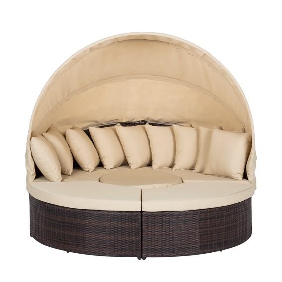 BraunBeige Premium Sonneninsel Paradise Lounge Premium strdChQ