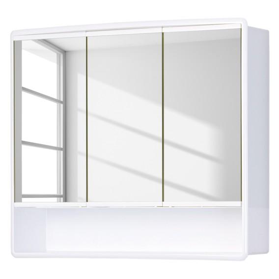 Armadietti Bagno A Specchio.Armadietto A Specchio Da Bagno Lymo Corpo Bianco