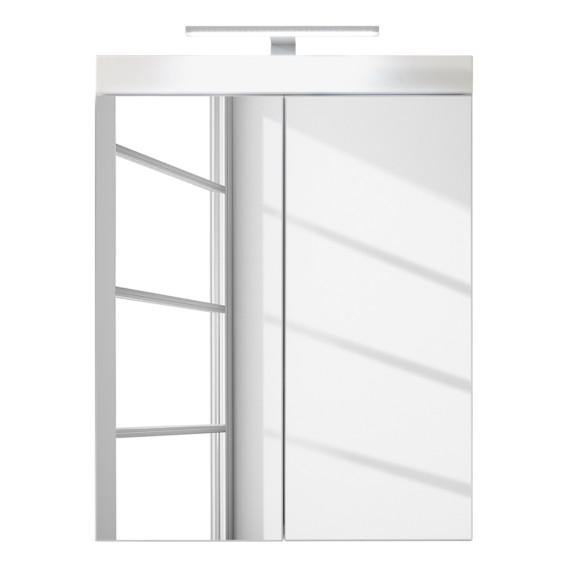Spiegelschrank Madie I - Inkl. Beleuchtung - Weiß