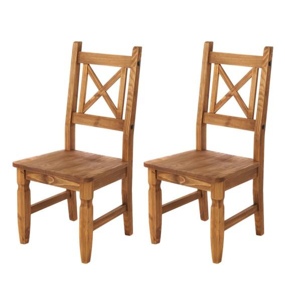 Jetzt bei Home24 Stuhl von Landhaus Classic
