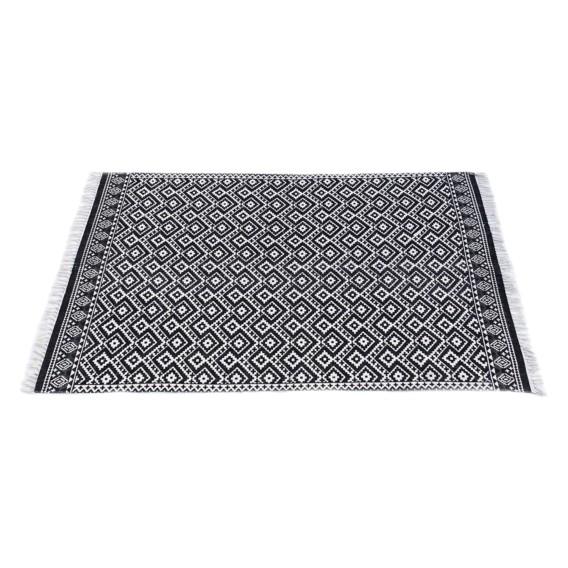 Pattern Ethno Teppich Teppich Pattern Schwarz Ethno XiPOkTZu