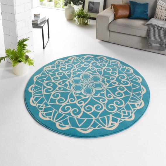 Teppich Mandala Mandala Teppich WebstoffTürkis Mandala Teppich WebstoffTürkis Pw80OXnk