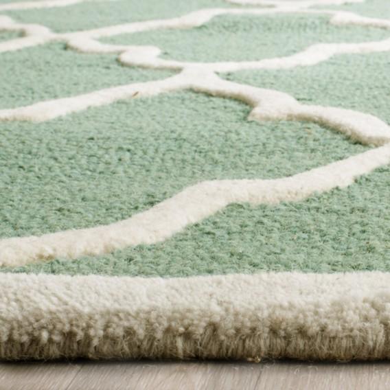 Teppich X Mintgrün91 Cm Noelle Handgetuftet 152 rBdeCxo