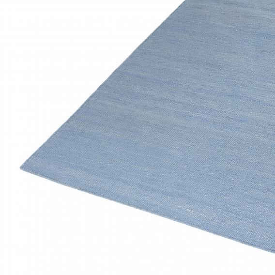 Matt Rainbow Hellblau80 Cm Teppich Handgewebt X 150 Kelim kX8wO0Pn