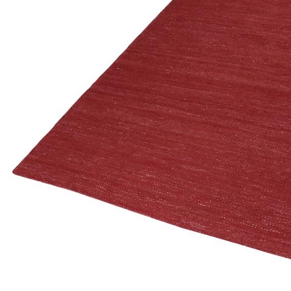 Kelim Handgewebt Teppich Rainbow X Kirschrot80 150 Cm 6f7gby