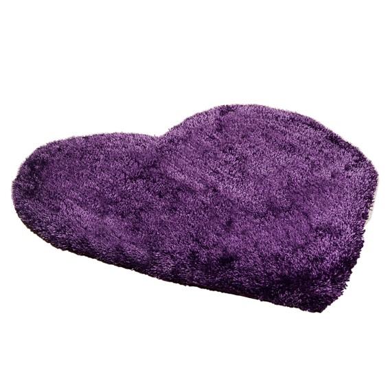 X Teppich Cm Heart ViolettMaße100 Soft N0m8wvn