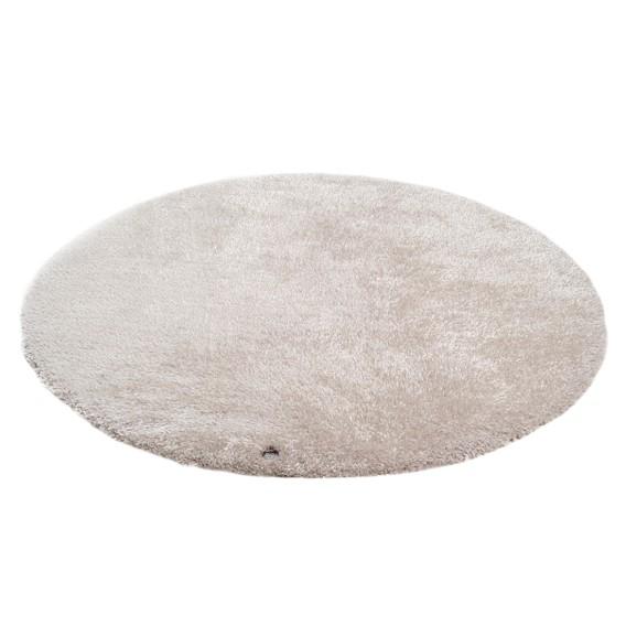 BeigeMaße140 X Round Teppich Cm Soft Y76ybgf