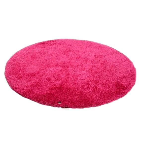 Round PinkMaße140 Cm Teppich Soft X xBroCde