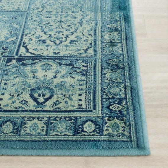 Teppich Vintagelook 232 X Suri Türkis161 Cm 2IW9HYED