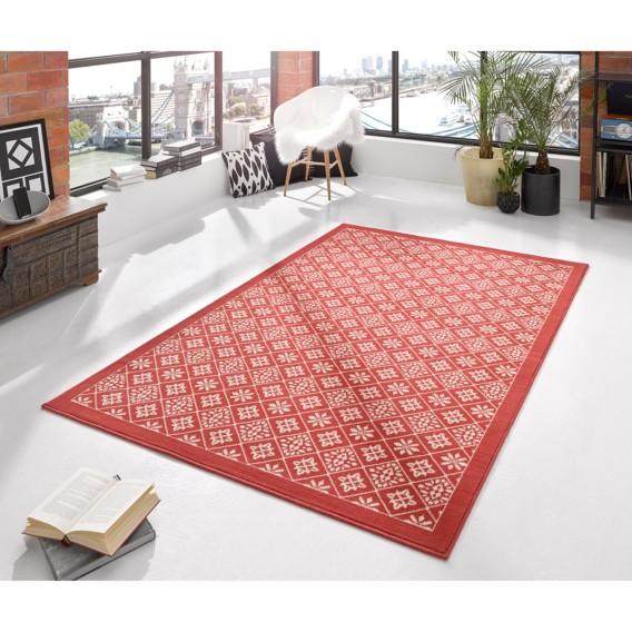 Tile Cm RotWeiß80 150 Teppich X H9YEDIW2