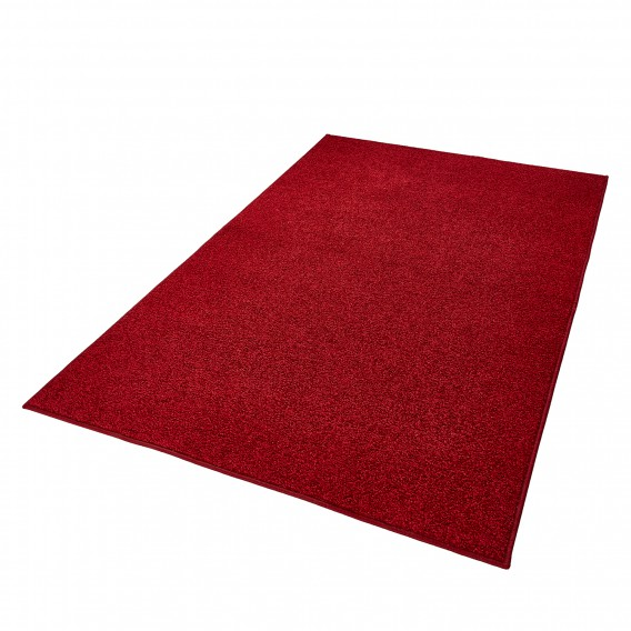 Teppich Uni X Kirschrot140 Cm Pure 200 5LA3Rj4