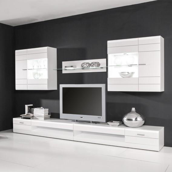 Hochglanz I lowboard Carero Tv Weiß rdoCBex