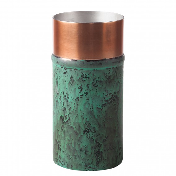 Vase Vase Oxidise teiligStahlGoldGrün Oxidise I2 teiligStahlGoldGrün I2 trdBsxhQC
